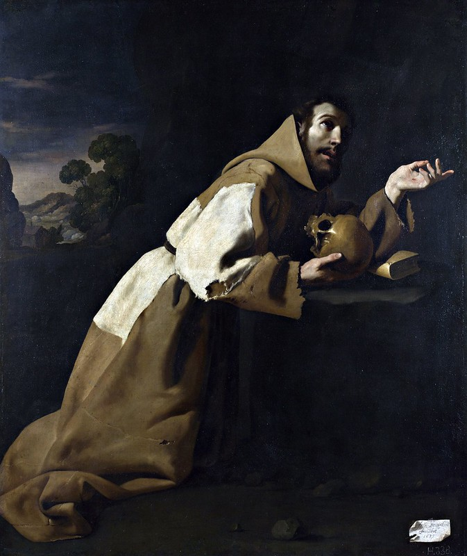 Francisco de Zurbarán - Saint Francis in Meditation