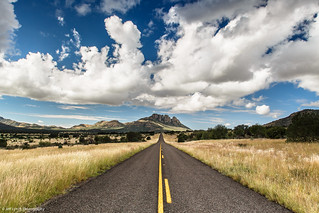 A Drive to Remember - Davis Mountains Preserve, Texas