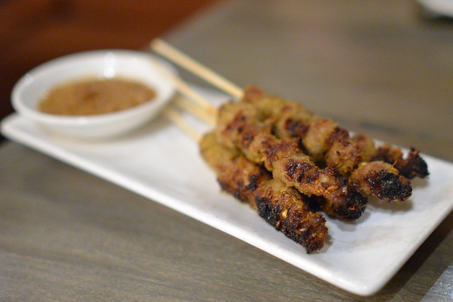 Lamb Belly Satay cumin, galangal, turmeric