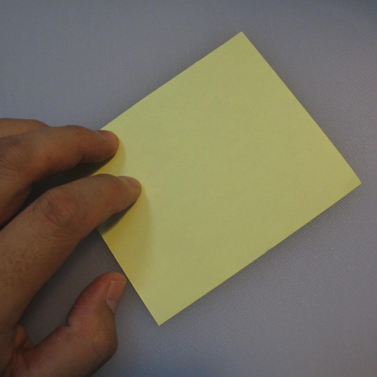 การพับกระดาษเป็นรูปเรือใบ (Origami Boat – 船の折り紙)  001