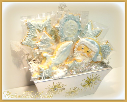 Old Man Winter Cookie Basket