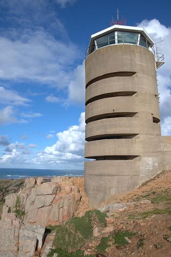 German lookout tower Jersey
