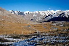 The Khunjerab Pass China border