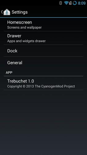 Cyanogen ให้เราปรับแต่งหลายๆ อย่างได้มากกว่า Pure Android