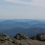 Surounding hills of Mount Washington
