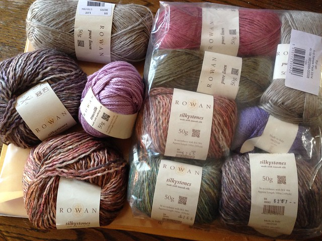 Rowan's Spring and Summer Yarns for 2014
