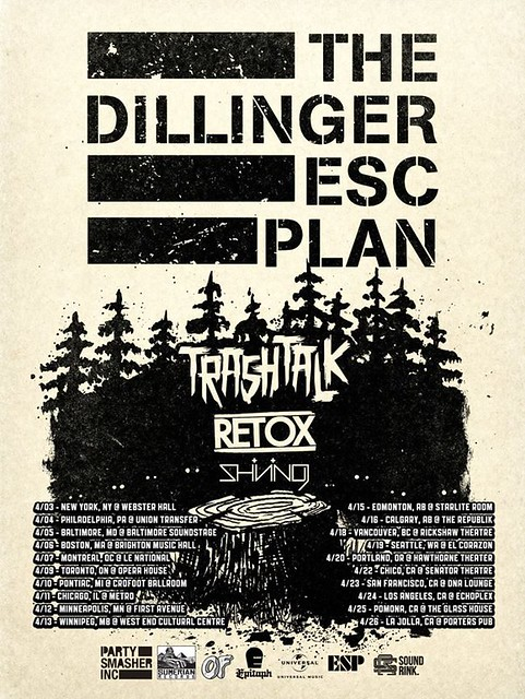 The Dillinger Escape Plan at the Baltimore SoundStage