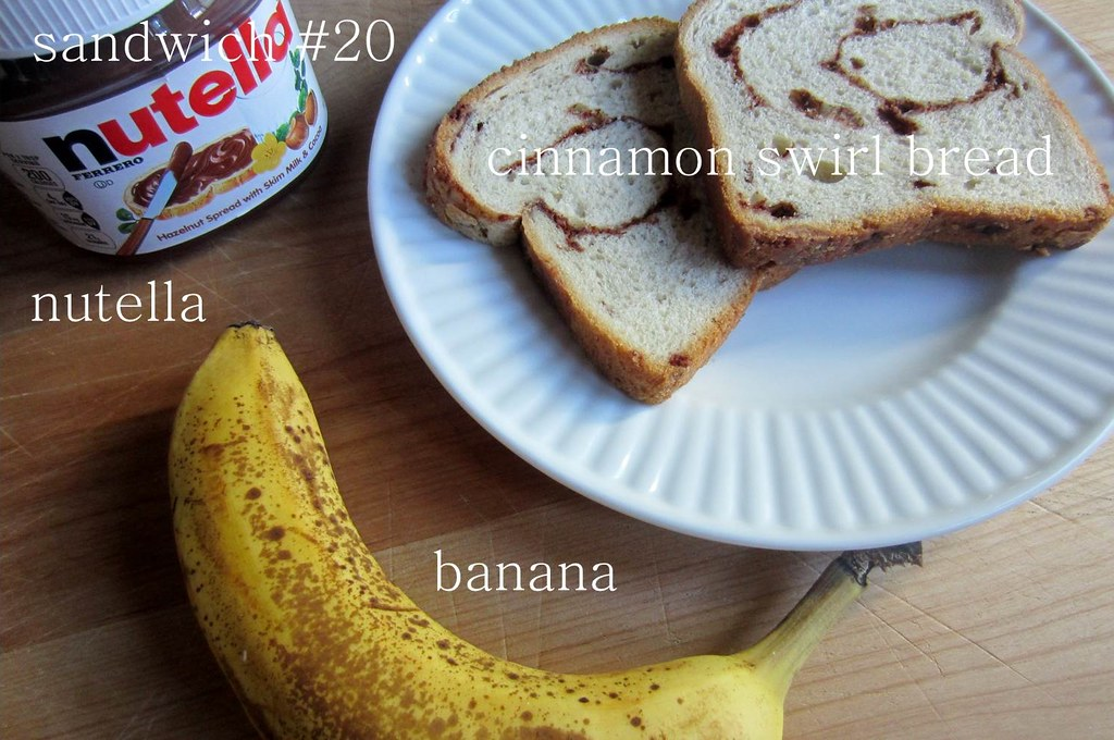 sandwich #20: nutella&banana