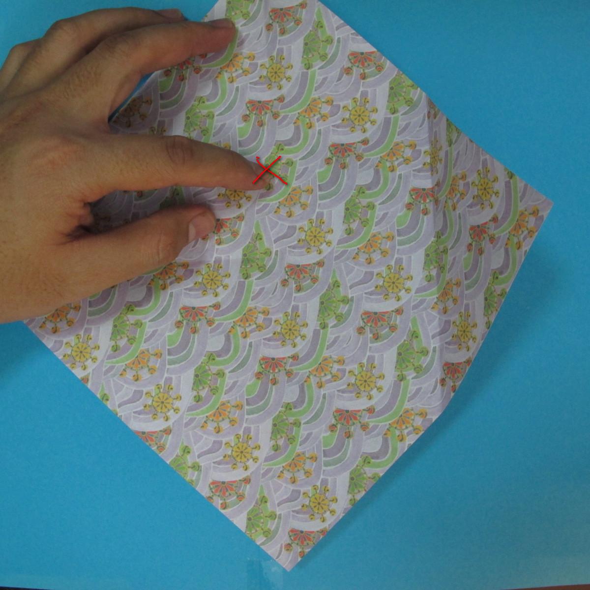 สอนวิธีพับกระดาษเป็นช้าง (แบบของ Fumiaki Kawahata) 007