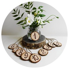 Tree Slice Table Number