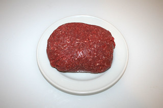 04 - Zutat Rinderhackfleisch / Ingredient beef ground meat