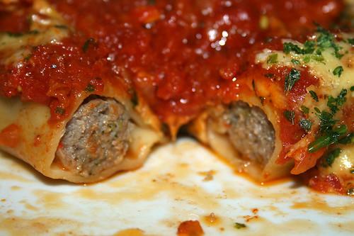 44 - Cannelloni di salsiccia arrosto - Querschnitt / Lateral cut
