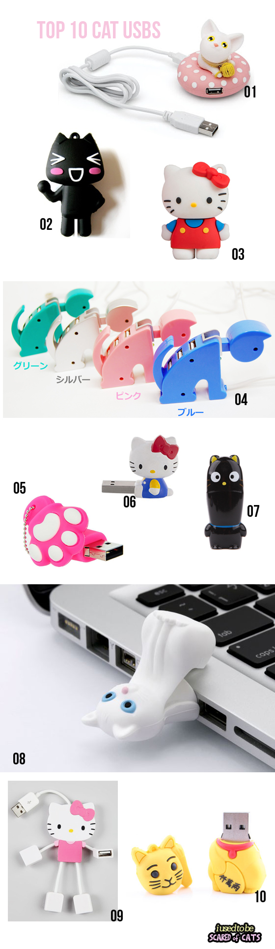 top 10 cat usb