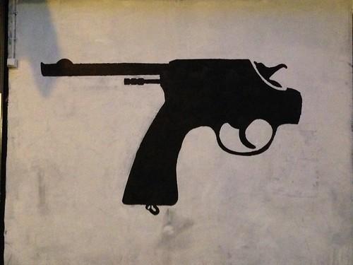 Revolver inversé