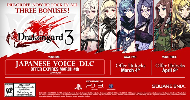 Drakengard 3 for PS3