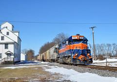 MMID GP38AC-302 E/B UBHF at Middleburg, MD