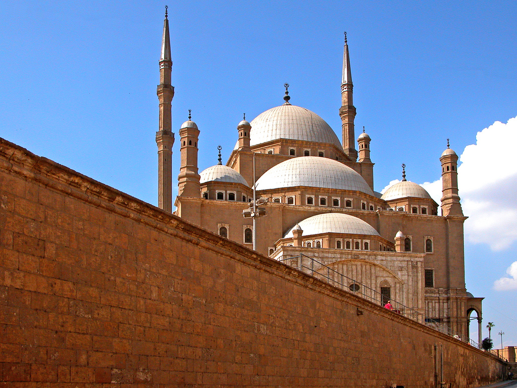 18. Mezquita de Mohammed Alí, en El Cairo. Autor, Archer10