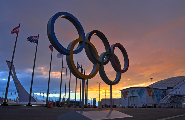Olympic Rings HDR