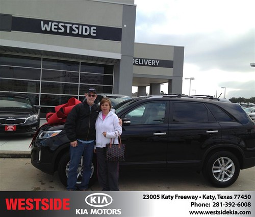 Westside KIA Houston Texas Customer Reviews and Testimonials-James Mathis by Westside KIA
