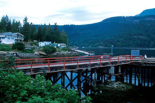 Egmont, Sechelt Peninsula, Sunshine Coast, British Columbia, Canada