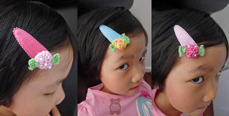 Candy crochet clips