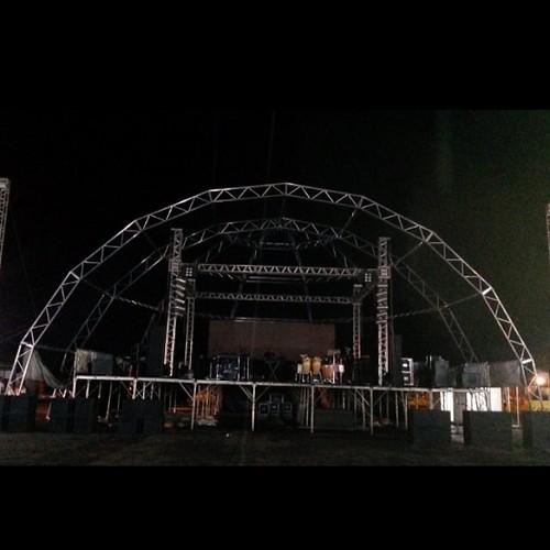 Estrutura pra começar o carnaval de #Cristalandia TO Com #SuellenSantos #SsEletrica