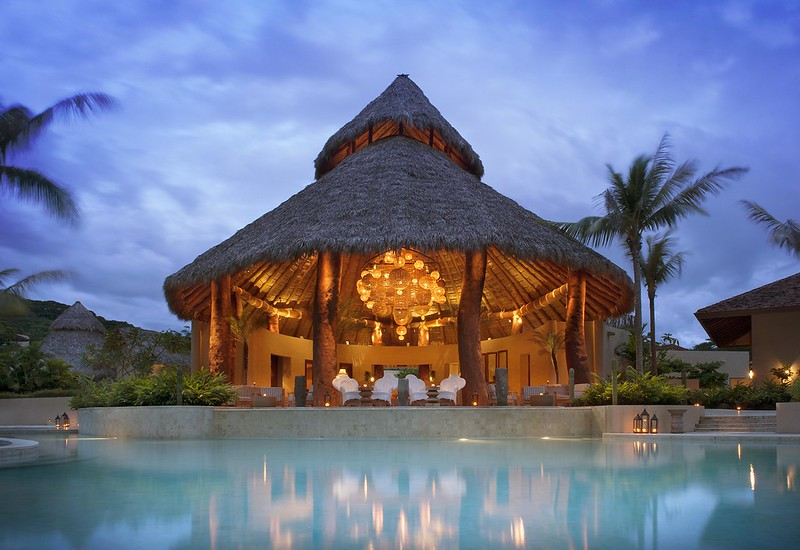 luxury spa and beach retreat