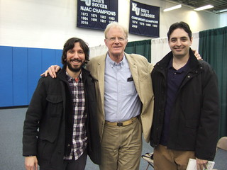 Greg, Rob, Ed Begley, Jr.