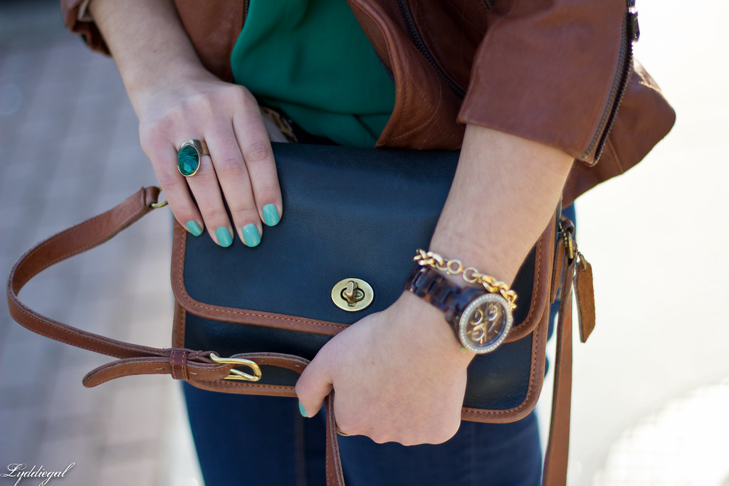 green blouse, brown leather jacket-4.jpg