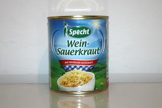 13 - Zutat Sauerkraut / Ingredient sauerkraut