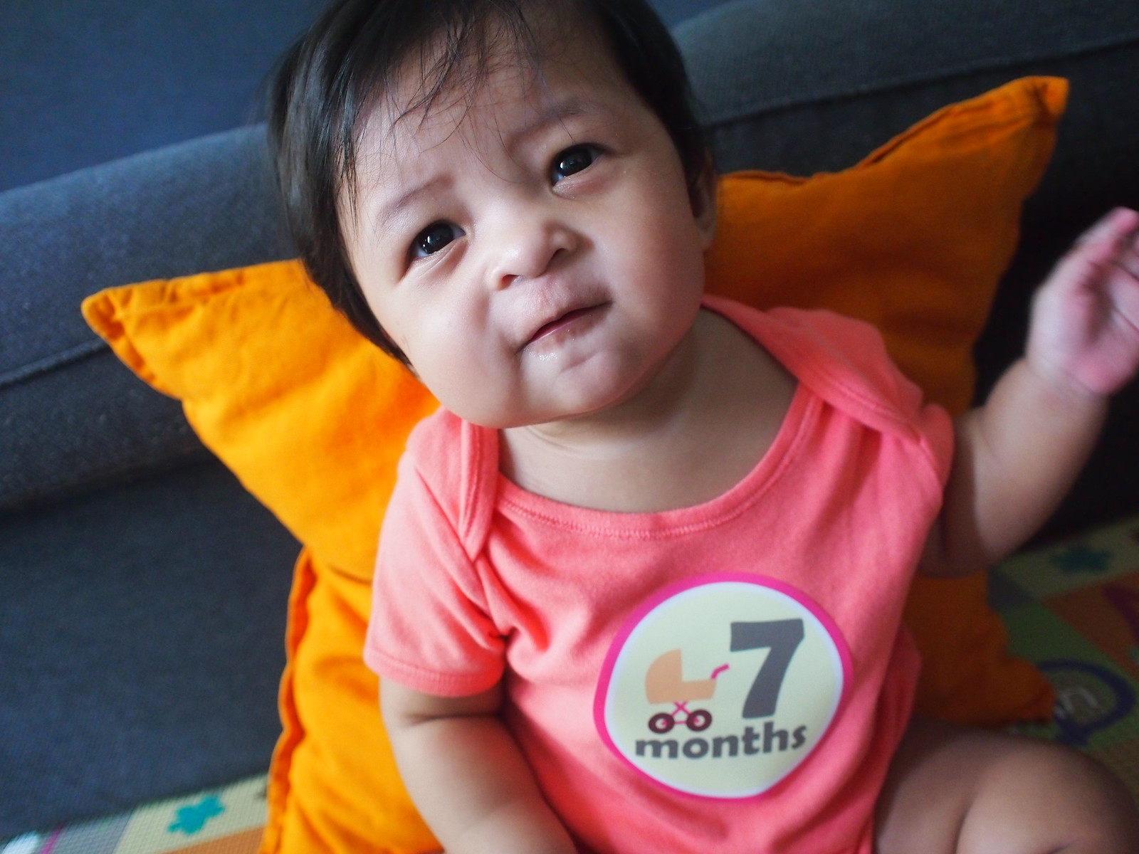 Zara at 7 month