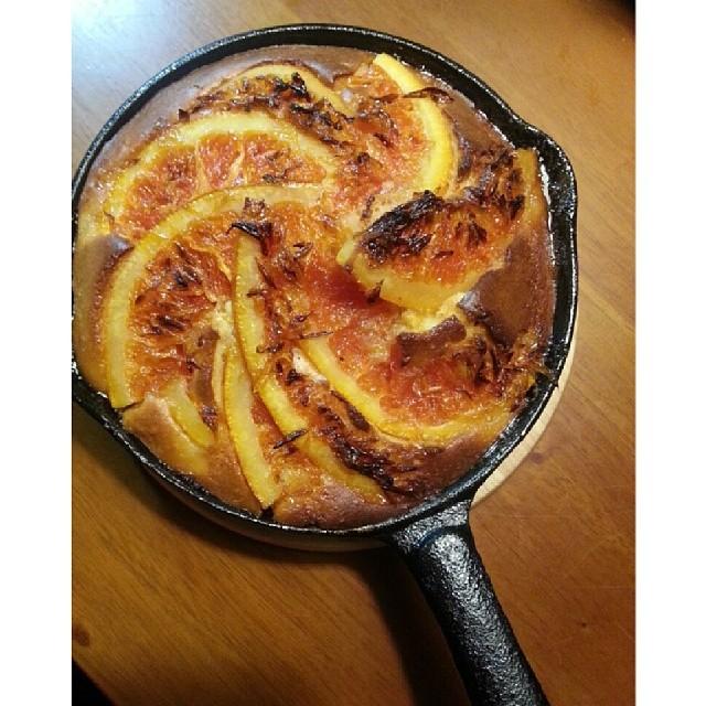 20140402  新口味  香橙鬆糕  #葛蘿的餐桌