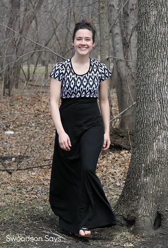 DIY Maxi Dress Ikat