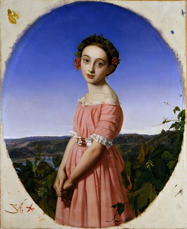Henri Lehmann - Faustine Léo (1842)