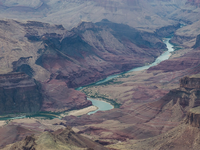 Colorado River through Grand Canyon National Park