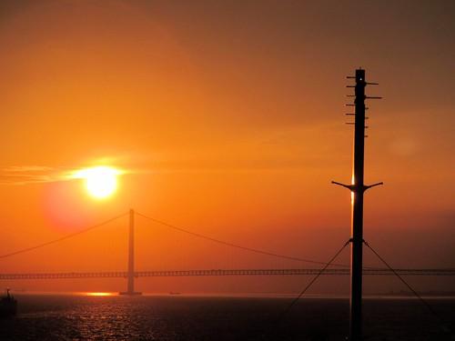 bridge strait akashi 瀬戸内海 inlandsea 瀬戸内