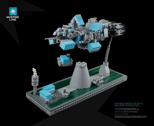 MAERSK LINE 976534 - SPACESHIP