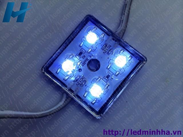 LED Hắt 3232 4 Bóng F5 Có Phủ Đế Sắt