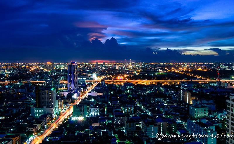 Beautiful Bangkok at night