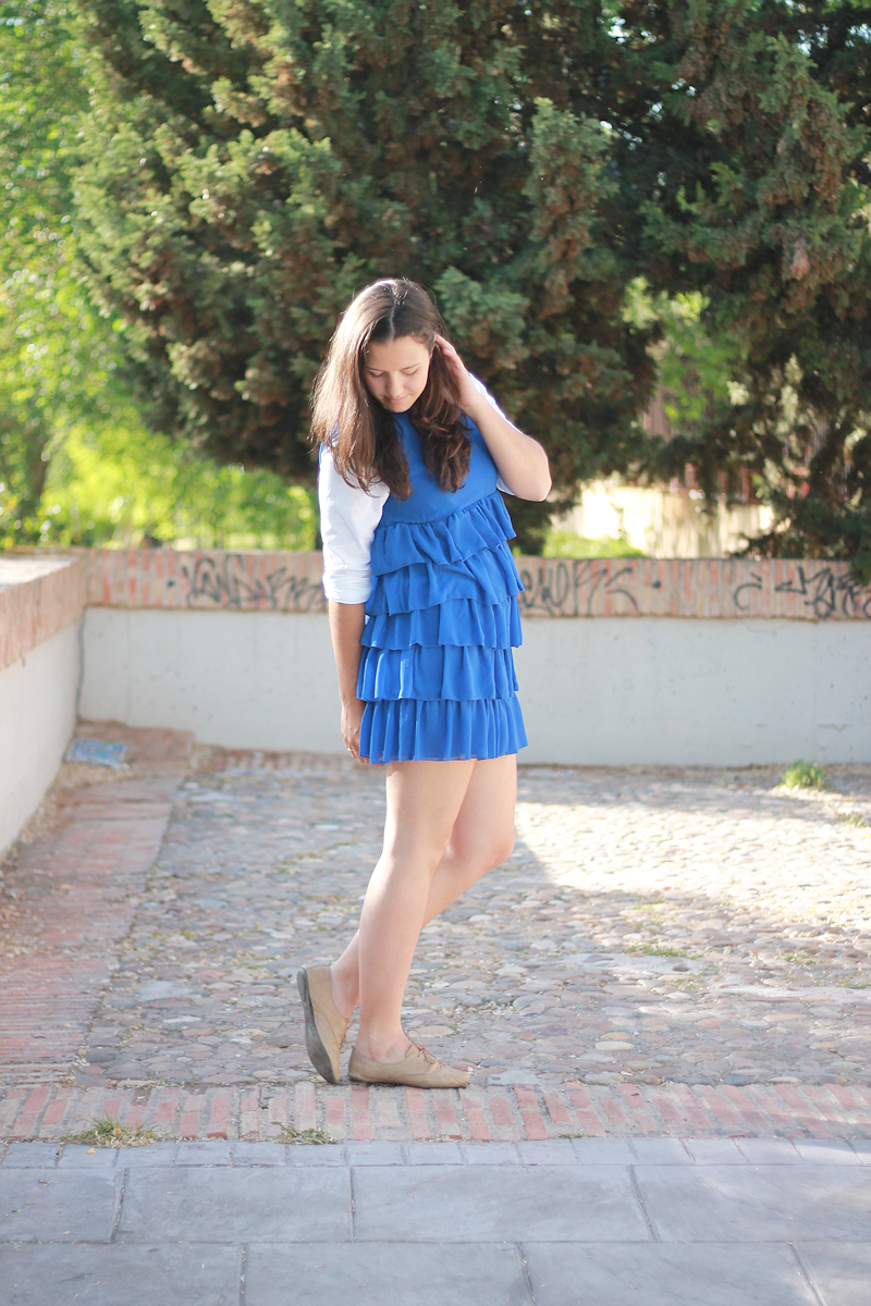 Blue dress | Miss  Ecl
