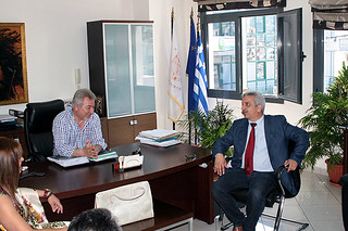 Ηγουμενίτσα: Επίσκεψη του Γενικού Γραμματέα Δημόσιας Τάξης