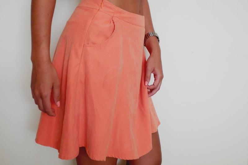 saia laranja
