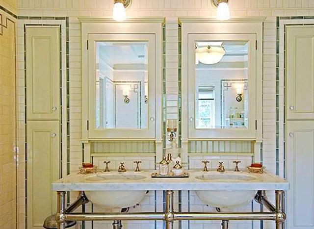 Классическая ванная комната в стиле 1920-х годов