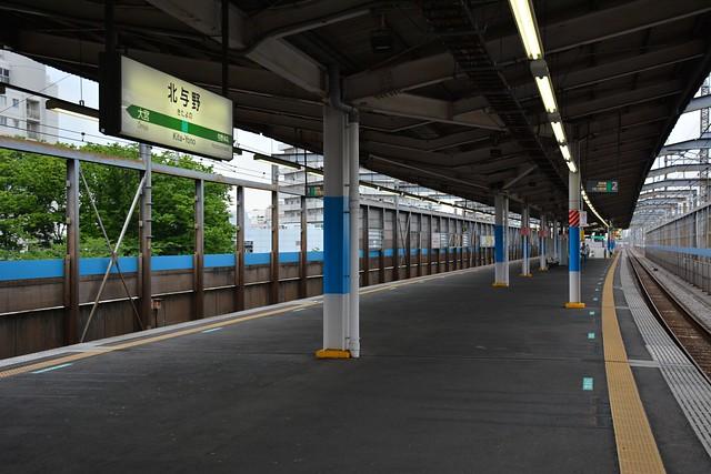 北与野駅ホーム