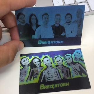 Nouvelles cartes de visite