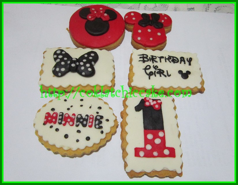 Cookies minnie mouse