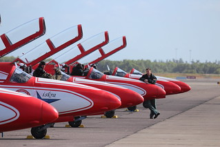TS-11_SPARK_Aerobatic_team_White-Red_Sparks_Danish_Air_Show_2014-06-22