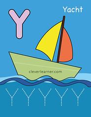 Y-is-for-yacht-worksheet-for-preschools