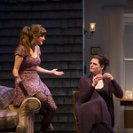 Shannon Esper and Kate Shindle in the Huntington Theatre Company's production of Gina Gionfriddo's RAPTURE, BLISTER, BURN. May 24 – June 30, 2013 at South End / Calderwood Pavilion at the BCA. photo: T. Charles Erickson.
