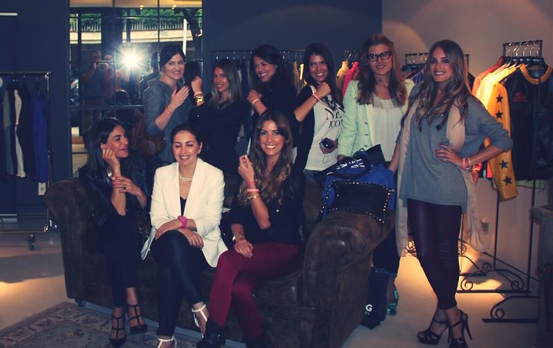 Presentación Bloggers Barcelona Blauer -Monicositas
